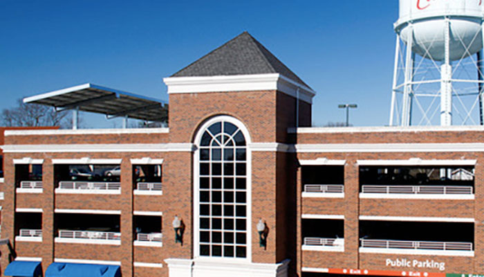 New Parking Deck Now Open